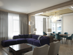 Colourful private apartment