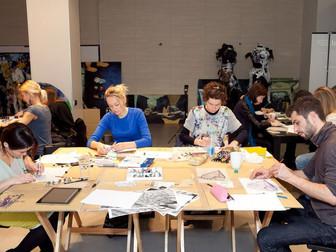 Творческий мастер-класс от Карен Херд, UAL, London
