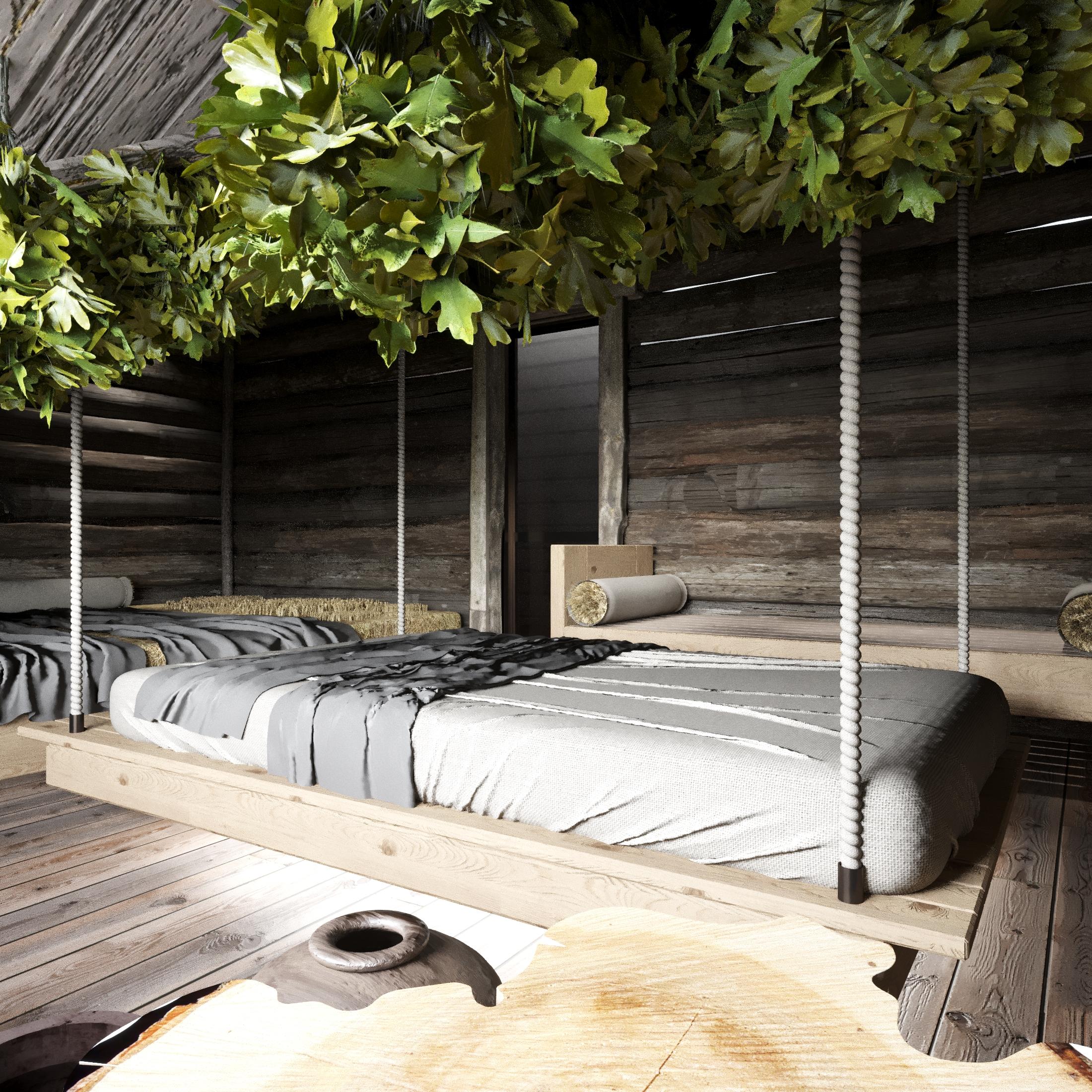 Комната отдыха - сенная