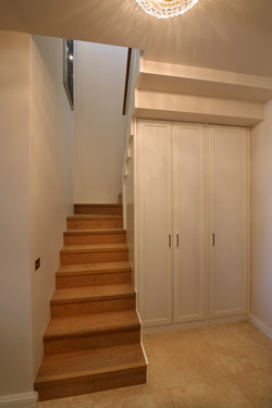 Stairway + entrance