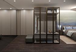 Master Wardrobe area