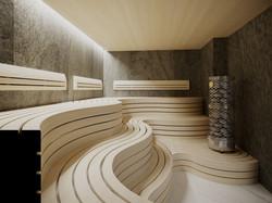 Sauna at SPA centre