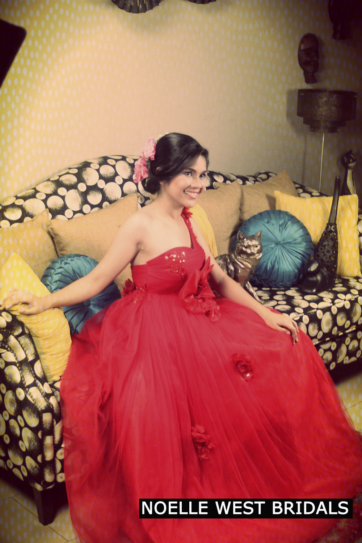 Noelle West Bridals Evening Dress