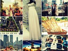 Inspiration Board of the Week... Rooftop Weddings!