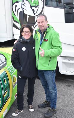 Paddock1414 samen met ex DTM coureur