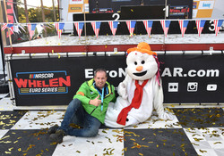 Samen met Sneeuwman