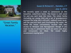 Vacation Rental Homes Jamestown RI