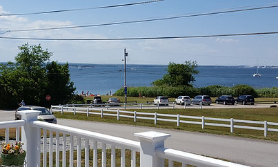 View of Sunset Beach from deck
