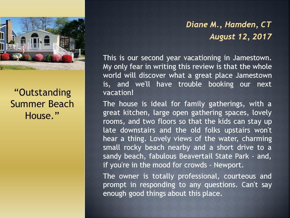 Beach Front Rental