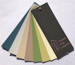 Bespoke colour fan