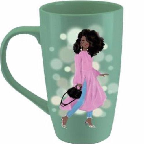 LMUG21 Wake Pray Slay Latte Mug