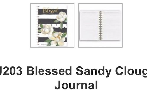 J203 Blessed Sandy Clough Journal