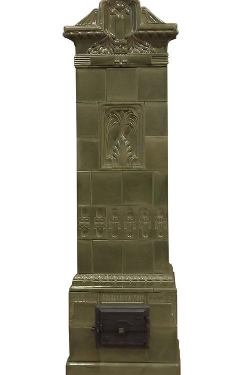 Tegelkachel Ziegenrück 1890