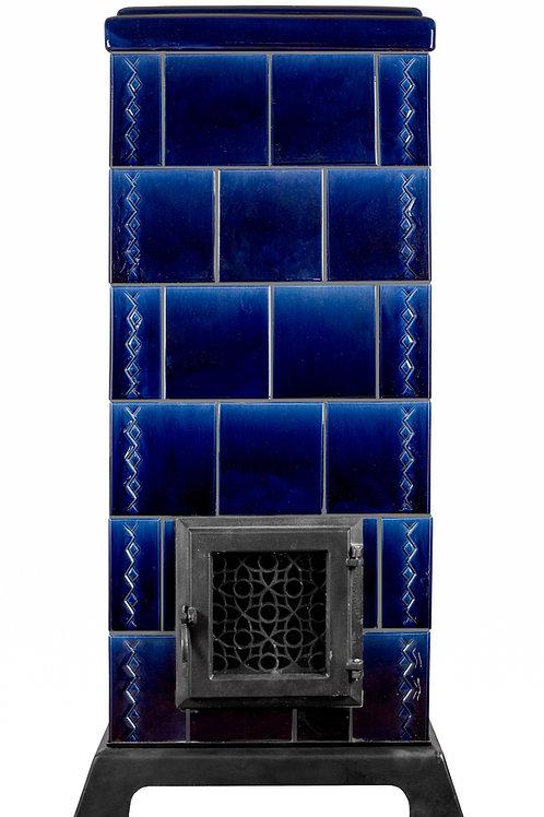 tegelkachel koningsblauw gloedtegelkachels