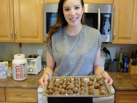 Cooking With Lauren! Power Protein Balls