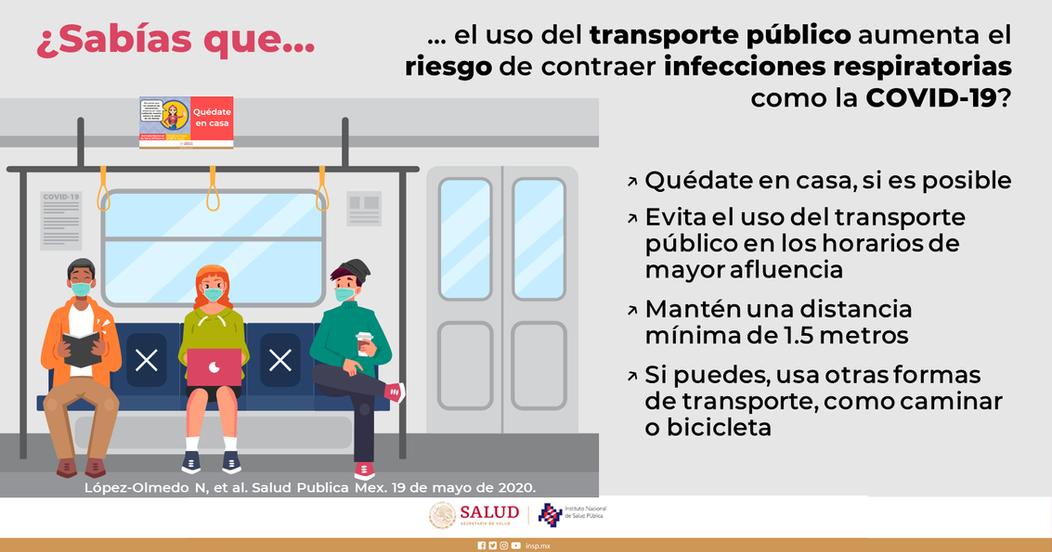 Recomendaciones transporte público