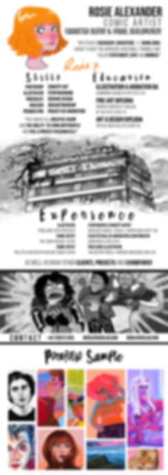 Rosie Alexander CV & Portfolio Sample.jp