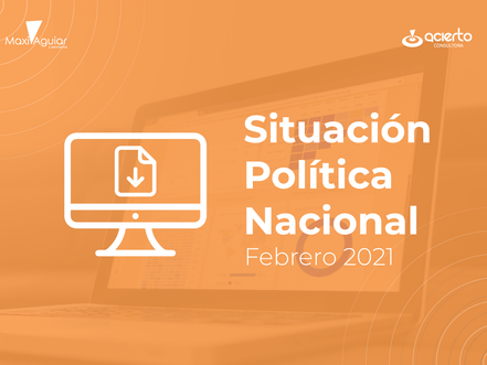 Leé nuestro Monitor de Opinión Pública Nacional de Marzo