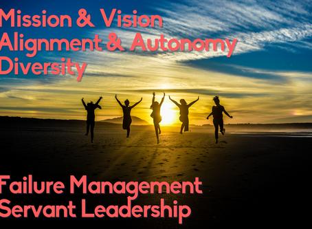 Bilde Dein HIGH PERFORMANCE Team mit diesen 5 Grundsätzen