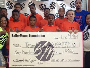 """Congrats Team Felton-Pass for Winning the BallerMoms """"Gives Back"""" Prize"""