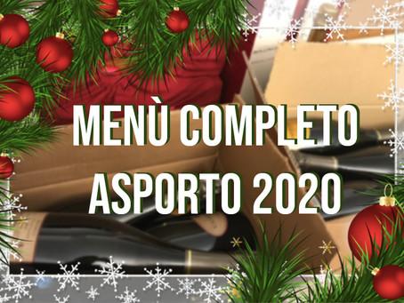 ASPORTO NATALE 2020