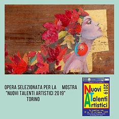 Opera selezionata per Nuovi Talenti Arti