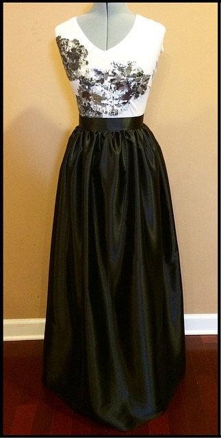 N. D. Specialty Maxi Skirt