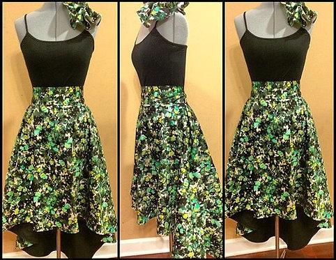 N. D.High-Low Skirt