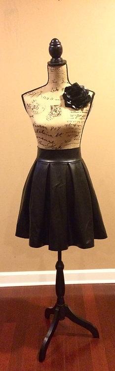 N. D. Faux Mini Skirt