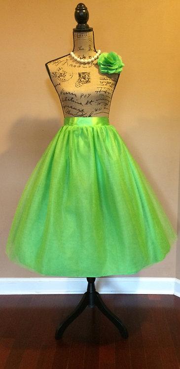 N. D. Tulled Skirt