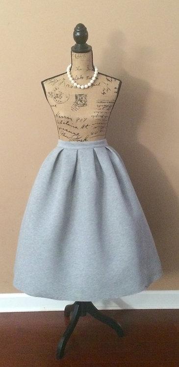 N. D. Structured Midi Skirt