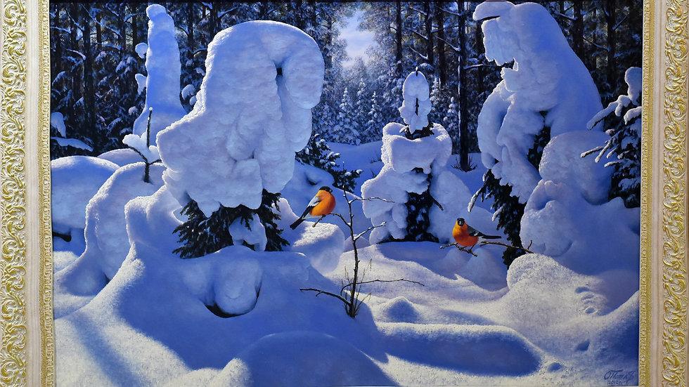 """""""Зима снегири"""""""