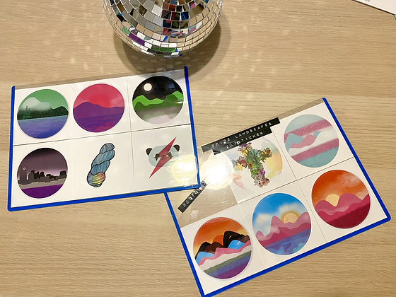 "3"" Stickers"