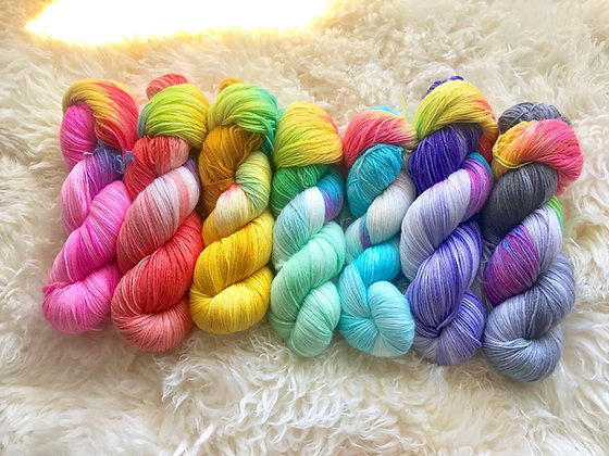 Pan Fran Knit CO Sock Yarn