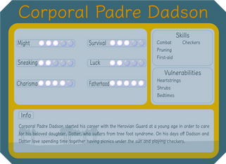 Corporal Padre Dadson