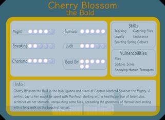 Cherry Blossom the Bold