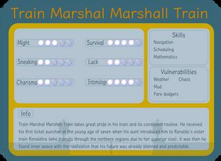Train Marshal Marshall Train