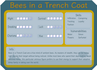 Bees in a Trench Coat