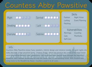 Countess Abby Pawsitive