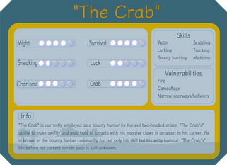 """""""The Crab"""""""