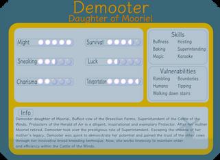 Demooter, Daughter of Mooriel