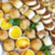 Savoury platter for a wedding buffet _#c