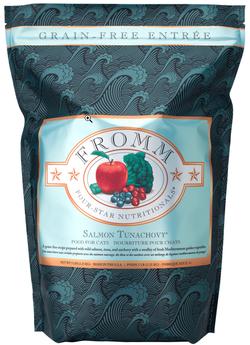 Four Star Grain Free Salmon Tunachovy Recipe Dry Cat Food