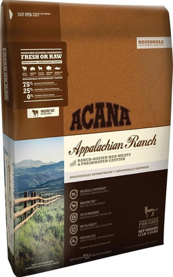 acana cat food applachian ranch