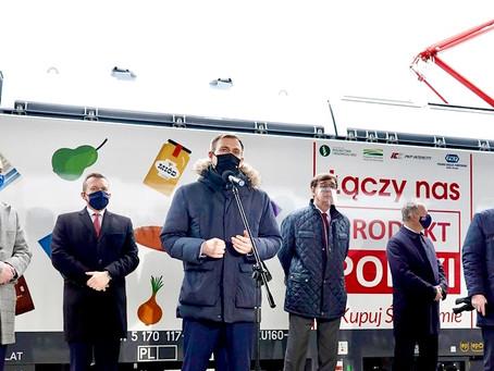 Produkt Polski na szynach