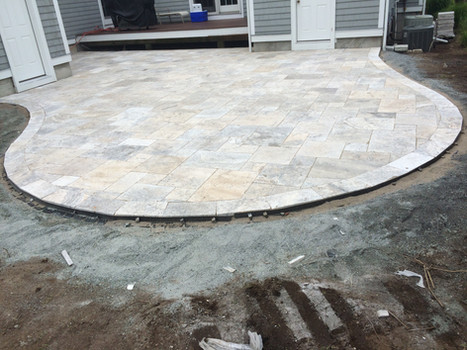Hardscapes Install