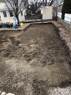 Before Pic of Paver Driveway Installation