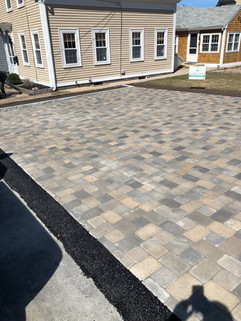 After Pic: Paver Driveway