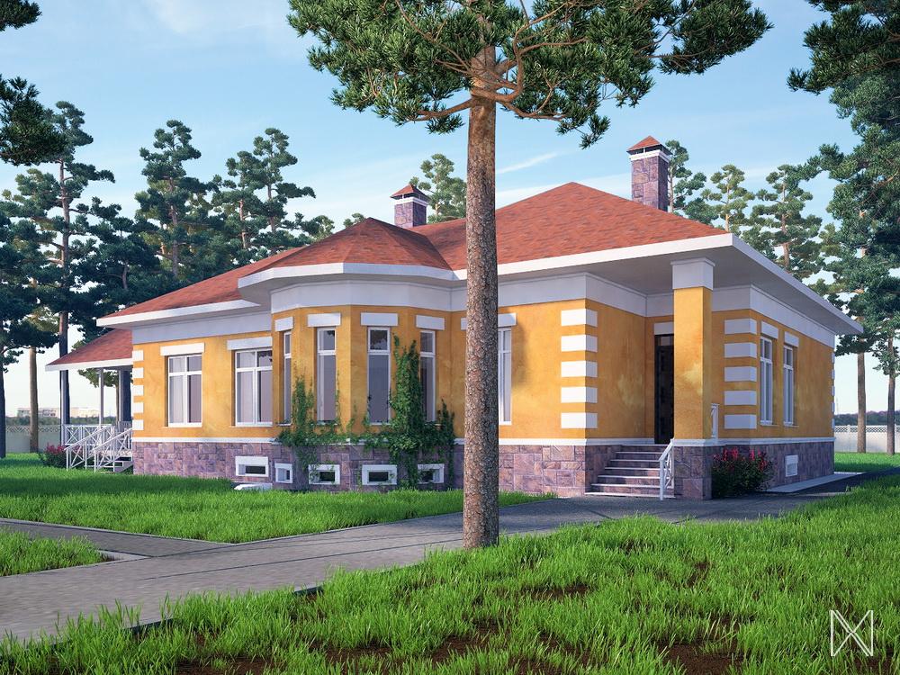 Проект дома Казань 2