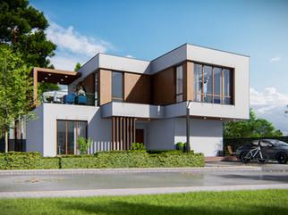 Проект реконструкции одноэтажного дома в двухэтажный